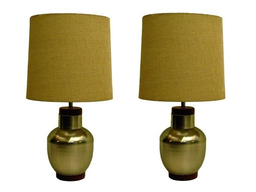 Custom Made Mid-Century Modern Lamps
