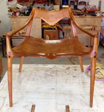 Custom Made Draper Low Chair - Occasional Chair