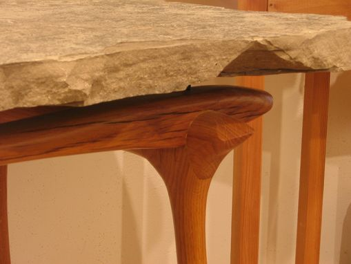 Custom Made Stone Top Display Table
