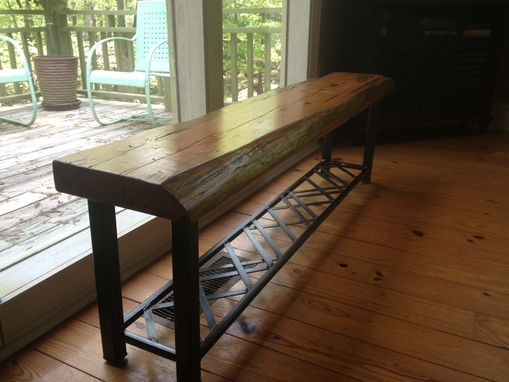 Hand Made Shoe Rack Bench By Five Fork Studio Custommade Com