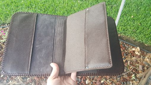 Custom Made Leather Aa Big Book Cover