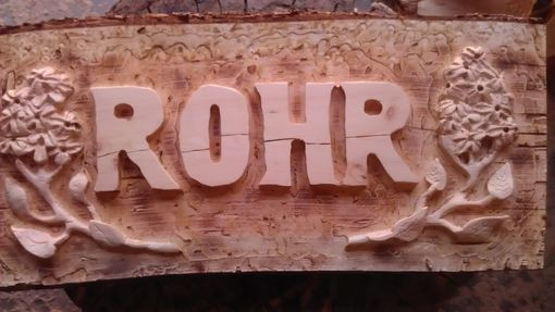 Custom Made Name Plate