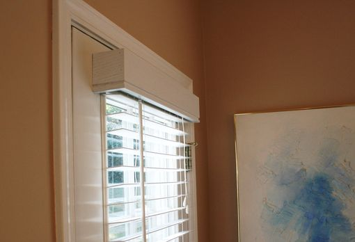 Custom Made Ash Window Cornice