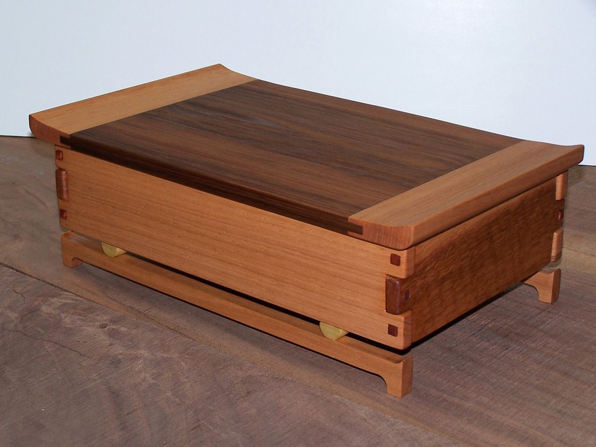Hand Made Greene Amp Greene Jewelry Box By Shanej Design And