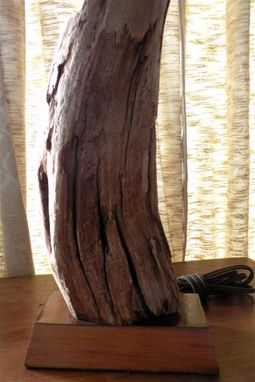 Custom Made Natural Driftwood Lamps