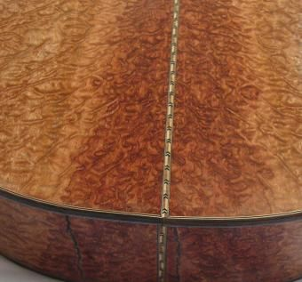 Custom Made Highly-Distressed High-Figure Bubinga Classical Guitar