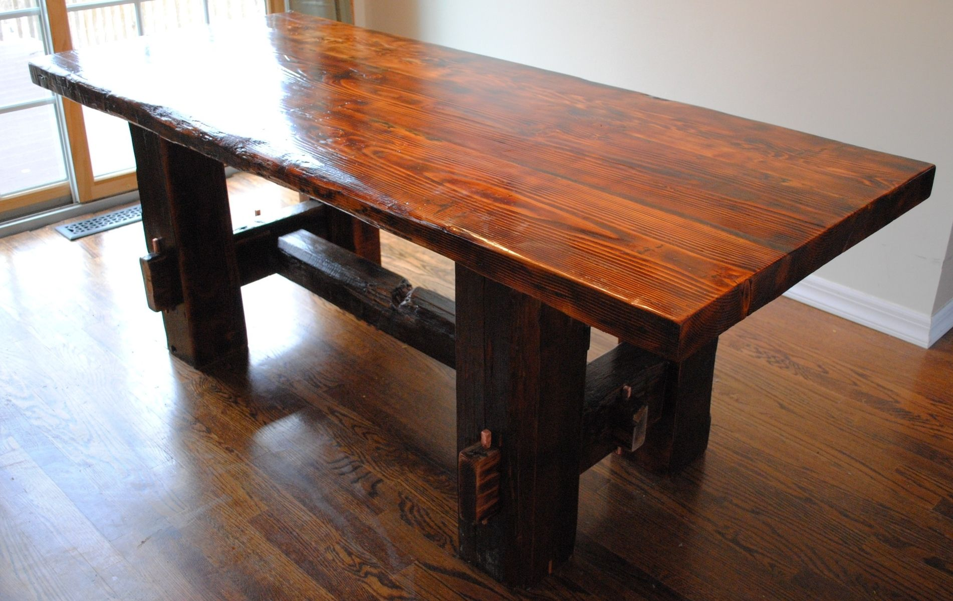 handmade farm table custom made farm table by reclaimed state custommade 9007
