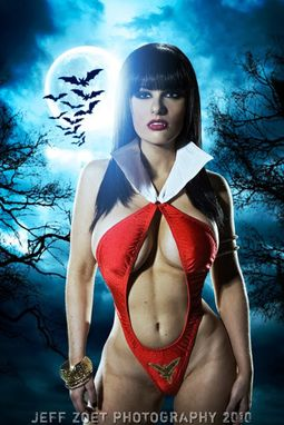 Custom Made Vampirella Costume