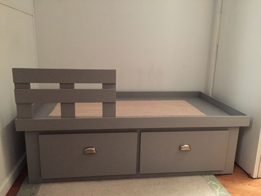 Custom Made Custom Child Platform Bed