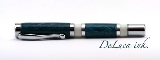 Custom Made Freshwater Teal Rollerball