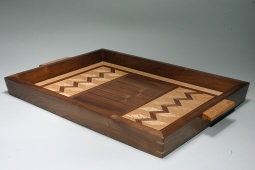 Custom Made Walnut Serving Tray