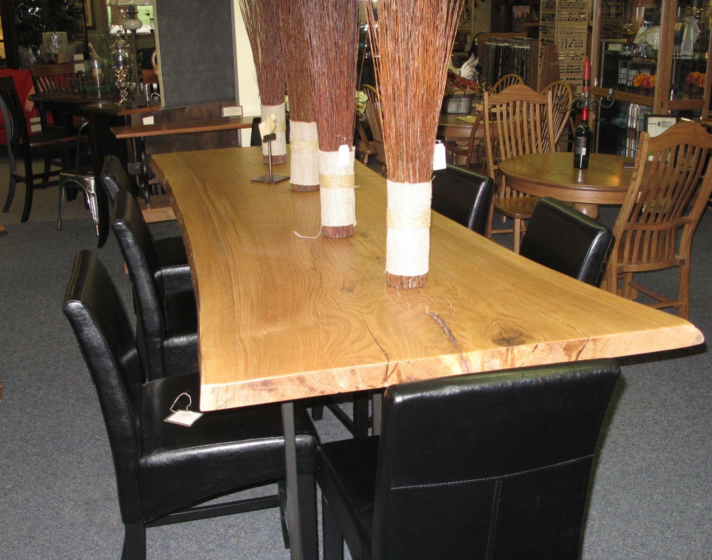 Kitchen Table Walnut Creek Custom made white oak slab by walnut creek furniture custommade custom made white oak slab workwithnaturefo