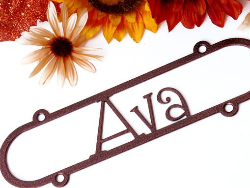 Custom Made Custom Family Name Metal Sign And Child Name Signs