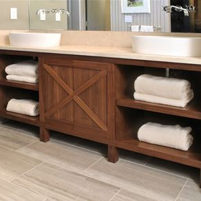Custom Bathroom Cabinetry | CustomMade.com
