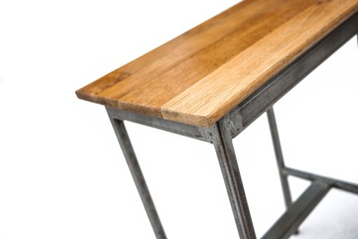 Custom Made Oak Top End Tables