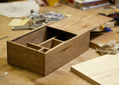 Custom Made Wooden Slide Top Box