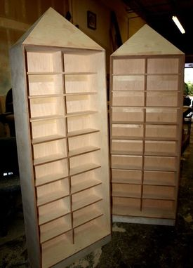 Custom Made Cd Cabinets - Egyptian Themed