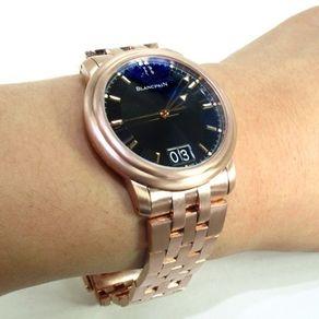 custom men s watches custommade com custom jewelry mens blancpain leman ultra slim watch