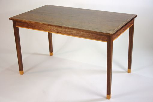 Custom Made Black Walnut And Cherry Writing Desk