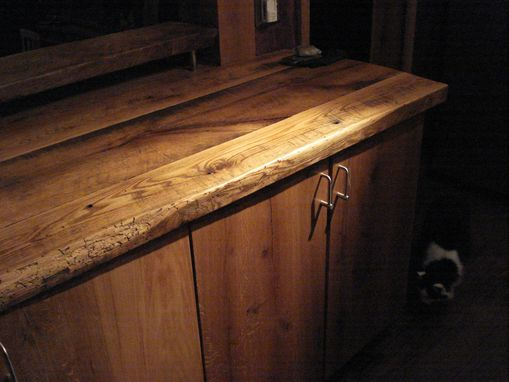 Custom Made Hand Made White Oak Kitchen
