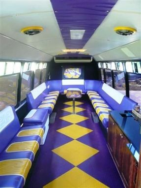 Custom Lsu Tailgating Party Bus by Bayou Boogie Customs | CustomMade.com