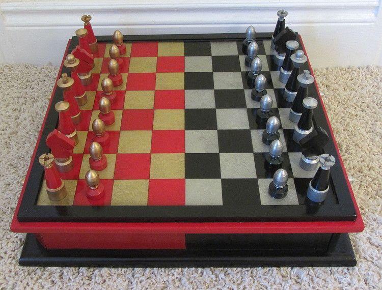 Buy A Custom Made San Francisco Bay Area Chess Ensemble