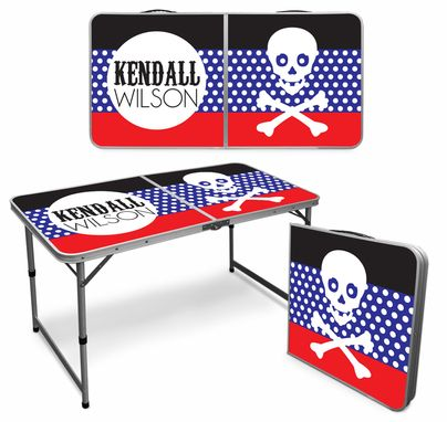 Custom Made Custom Beer Pong Table - Folding (2x4)