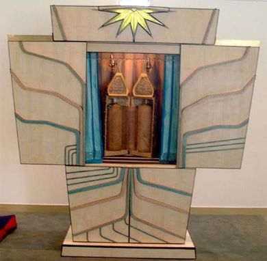 "Custom Made Ark / Arron Kodesh  ""Tree Of Life"""