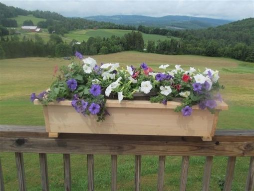 Custom Made Window Boxes