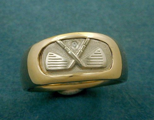 Custom Made Golf Enthusiast Ring