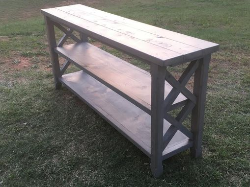 Custom Made Custom Made Farmhouse X Console Table