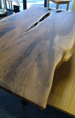 Custom Made (Sold) Live Edge Dining Table