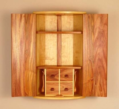Custom Made Coopered Cabinet