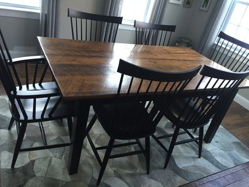 Custom Made Shaker Farm Table 72