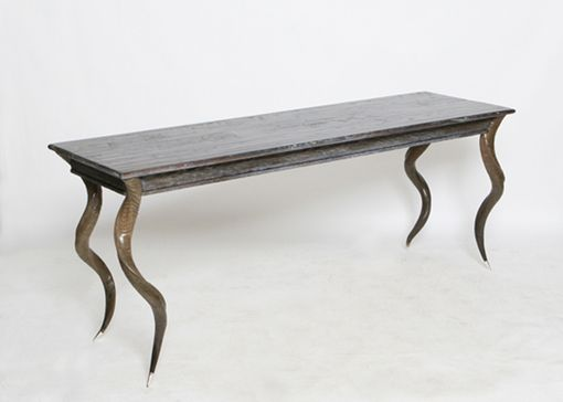 Custom Made Handcarved Kudu Desk