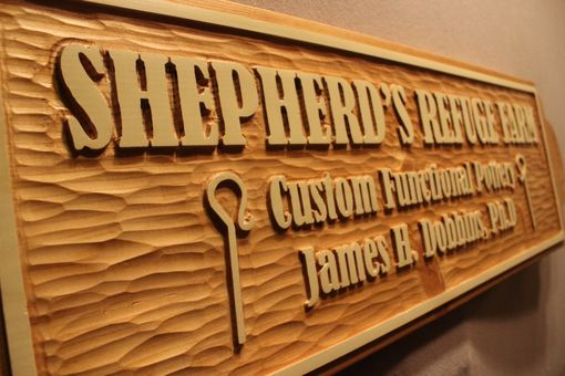 Custom Made Custom Wood Signs | Carved Wood Signs | Handmade Signs | Business Signs | Farm Signs | Home Signs