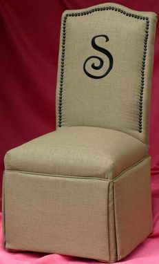 Custom Made Custom Made Parson Chair #5