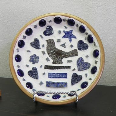 Custom Made Blue Bird Mosaic