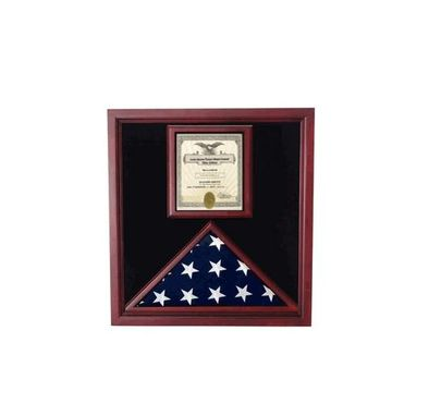 Custom Made Award And Flag Display Case Display Case