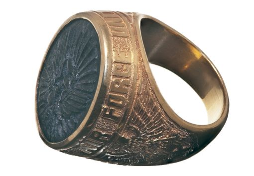 Custom Made Air Force Or Army Military Service Ring