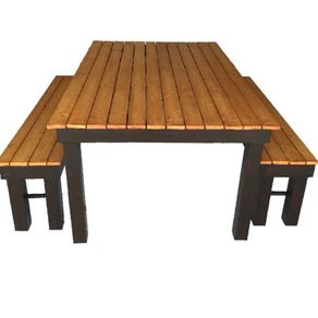 Beautiful Outdoor Table With Benches