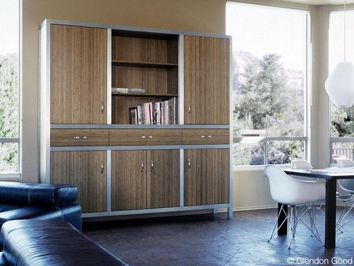 Custom Made Bamboo Cabinets