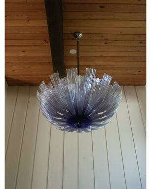 Custom Made Feather Chandelier