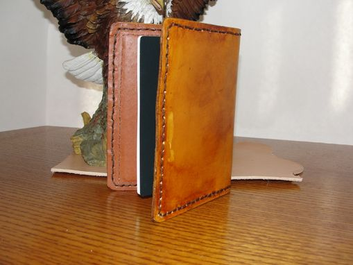 Custom Made Leather Passport Wallet