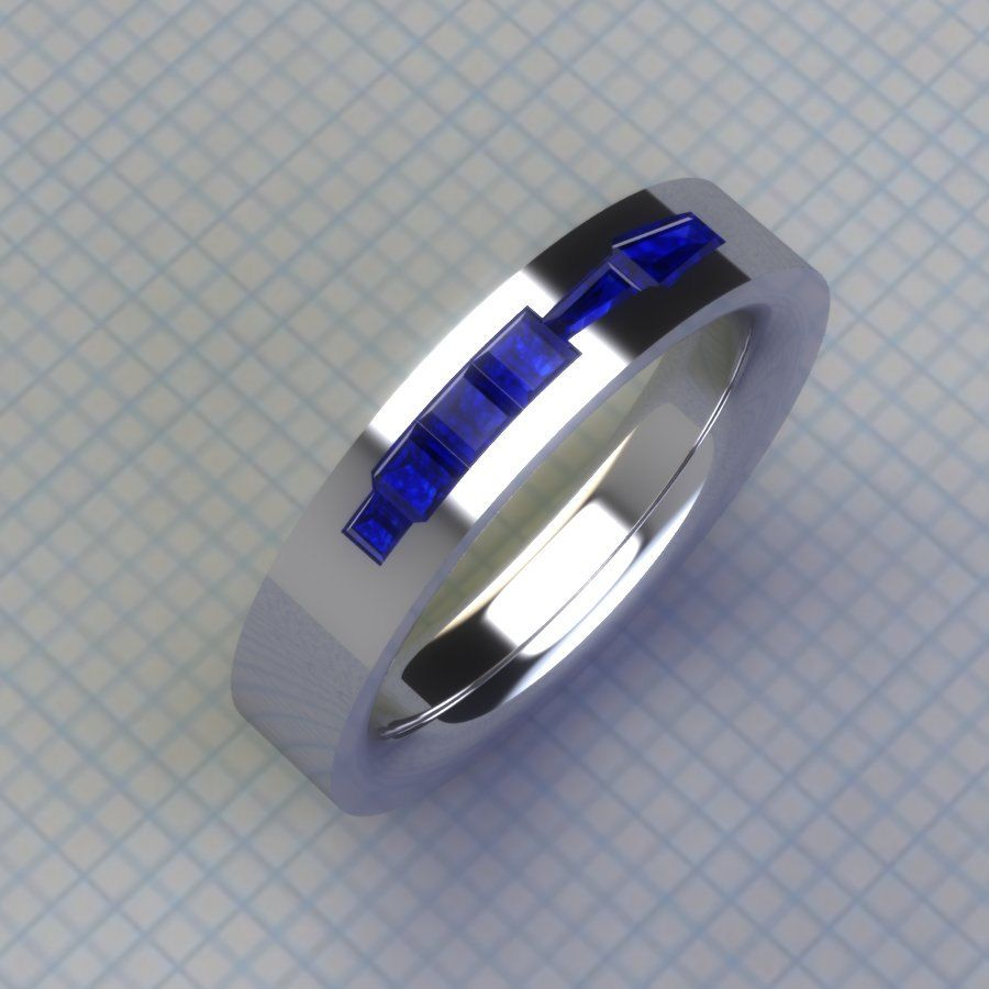 droid tools band single - R2d2 Wedding Ring