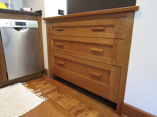 Custom Made Mission Style Kitchen Cabinet