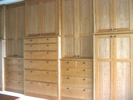 Custom Made Bedroom Storage
