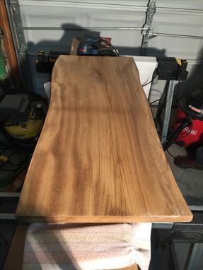 Custom Made Live Edge Solid Magnolia Table