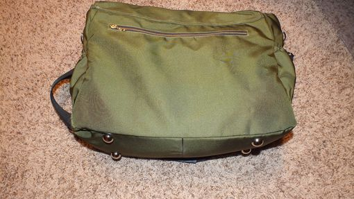 Custom Made Messenger Bag Or Carry All Bag