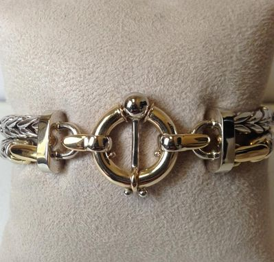 Custom Made Knocker Clasp Bracelet
